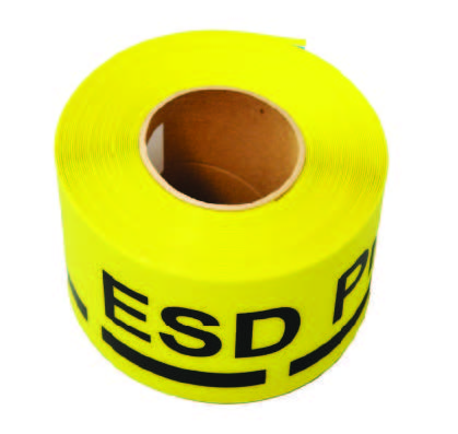 WARNING ADHESIVE TAPES TO DETERMINE PATH AND PLACES IN THE EPA ZONE